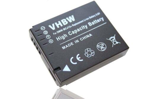 Batería DataChip con indicador restantes para Panasonic DMW-BCJ13
