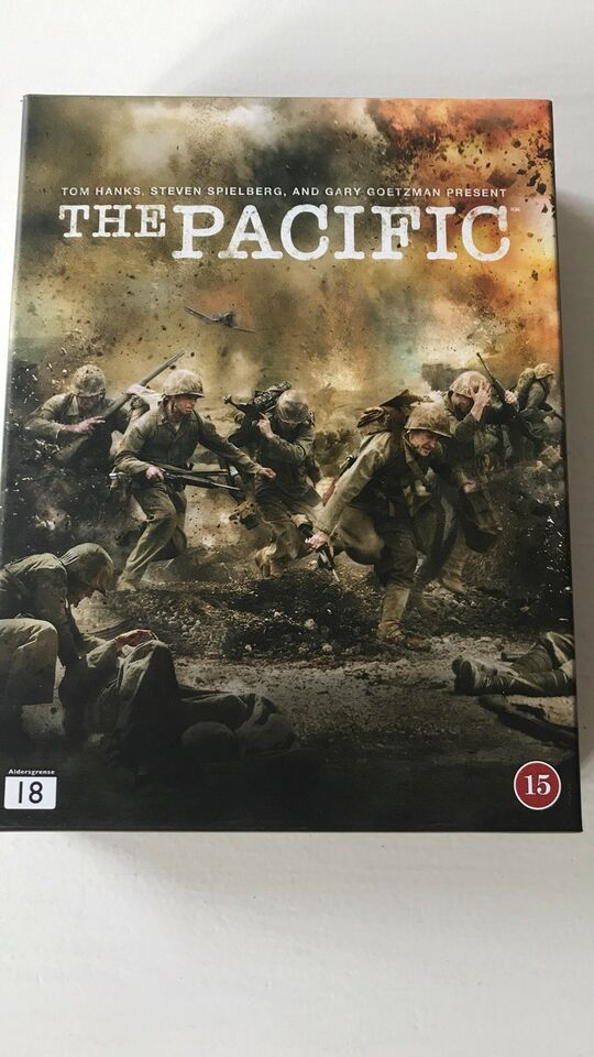 The Pacific, DVD, TV-serier