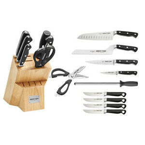 Ergo Chef 11pc Pro Series Block Set Santoku Bread