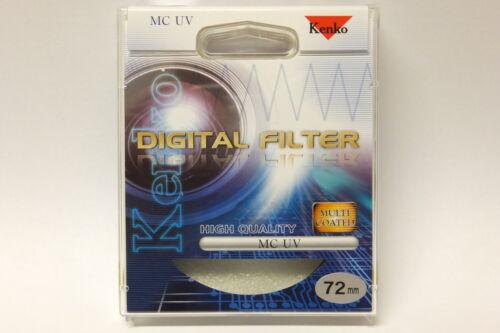 Kenko Filtro Set UV Mc Filtro e polarizzatore Circular merce nuova 72mm