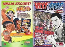 """MANGA COMIC LOT: 5 ISSUES OF """"NEXT STOP GERMANY"""" 2006 US MEN'S NATIONAL SOCCER"""
