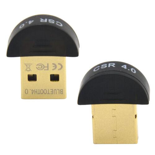 Mini USB Bluetooth Adapter V 4.0 Dual Mode Wireless Dongle CSR 4.0 Win7 //8//XP L
