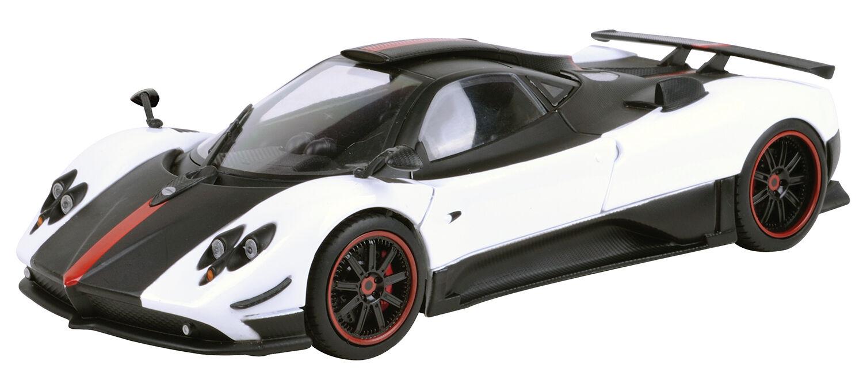 Polycyberusa Motormax-Pagani Zonda 5 biancao nero 1 18-79158