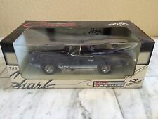 1961 MAKO SHARK CORVETTE CONVERTIBLE UT MODEL LIMITED 1:18TH W/ BOX