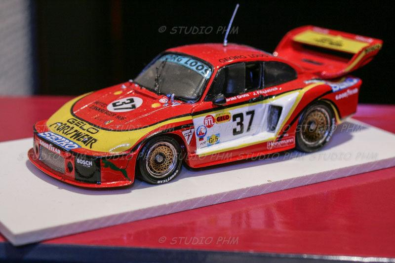 Porsche 935 gelo racing no 37 sportswear 24h du mans 1979 1 43 record no spark