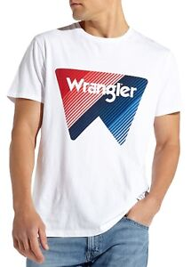 Wrangler-Label-Brand-Box-Logo-T-shirt-Men-Crew-Neck-Print-Cotton-Tee-Off-White