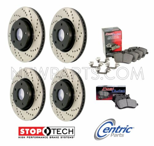 For Audi A7 Quattro V6 3.0L Full Front Rear Stoptech Brake Kit Rotors /& Pads