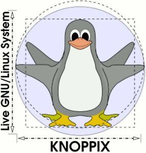 Knoppix Live GNU Linux System 9.1 on Bootable CD / DVD / USB Flash Drive