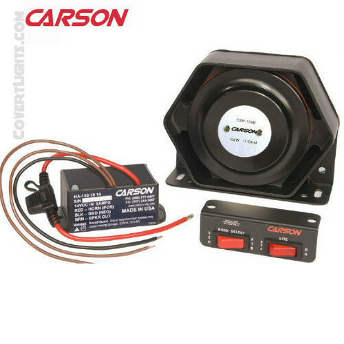 CARSON  HPK-150 HPK-150 Under Hood Waterproof Stutter Horn System with Speaker