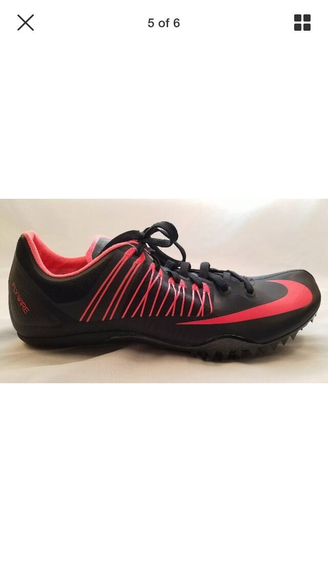 Nike Zoom Celar 5 Track Spikes  Black Red 629226 060 Mens Sz 12.5 NNB Brand discount