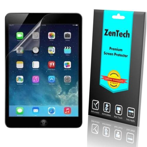 3X ZenTech HD Clear Screen Protector Shield Guard Film for iPad Air 2 Mini 4 3