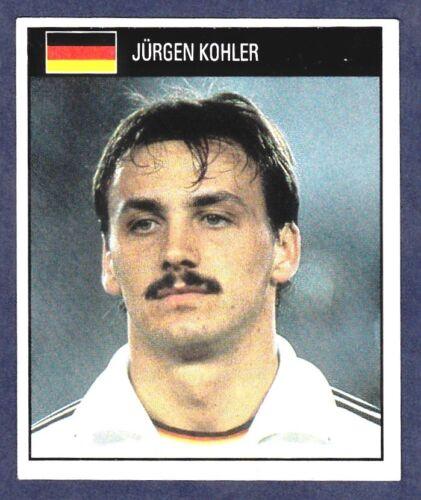 ORBIS 1990 WORLD CUP COLLECTION-#068-WEST GERMANY-JURGEN KOHLER