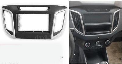 Car Radio Fascia Stereo frame facias for Hyundai iX25 Creta Dash Bezel Trim Kit