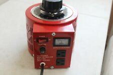 Tdgc2 2km Variac Variable Ac Power Transformer With Meter 0 130 Vacmax20a
