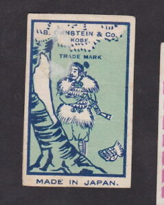 Old Matchbox label Japan BN38773 Man - France - Old matchbox label. Authentic. Stichworte: Philumenie , Matchbox Labels , Lucifers , Zündhölzer , Streichhölzer , Safety Matches , Zündis , Etiquettes , matchlabel , matches, matchboxes, matchbox, fosforos, tndstickor, tndstikker, fiammiferi, - France