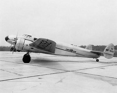 Luftfahrt & Zeppelin Honest Lockheed Electra Modell 12 Flugzeug 8x10 Silber Halogen Fotodruck Distinctive For Its Traditional Properties Transport