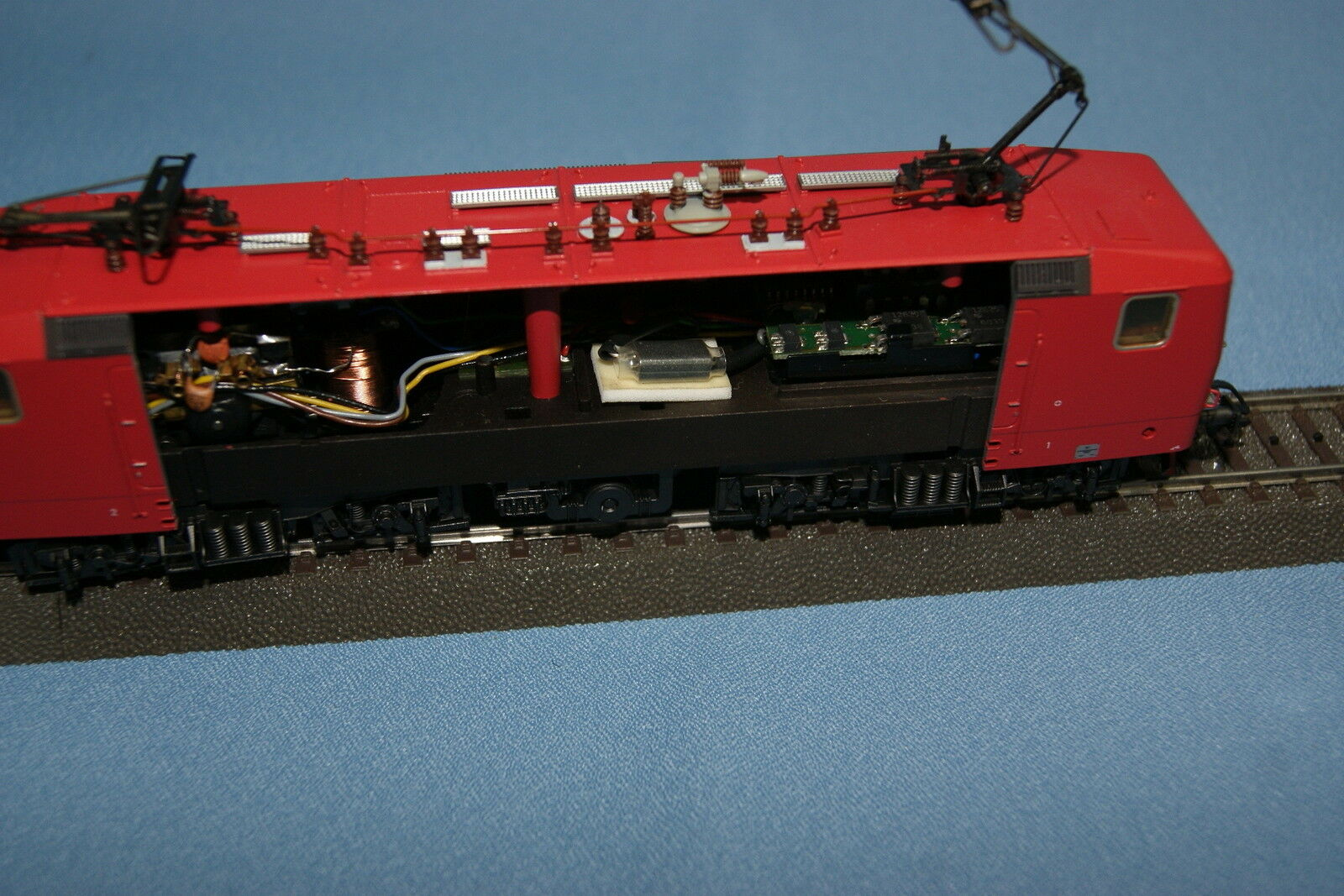 Marklin 3442.001 DR  DDR  Electric Electric Electric Locomotive br 212 Nuovo rosso OPEN VERSION 07d2b6