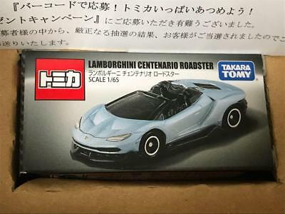 TAKARA TOMY TOMICA Lamborghini Centenario Not for Sale cadeau publicitaire 2018 le 10000
