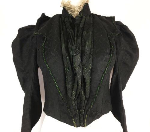 Late 1890s -1900 Puff Sleeve Fancy Bodice Patterne