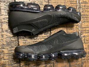 287bd102d9f Nike Air Vapormax Flyknit SE Laceless Black AQ0581 001 Men s Sz 11 ...