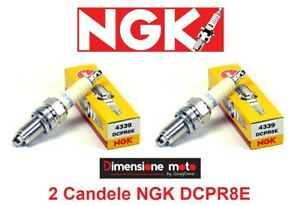 2-Candele-d-039-accensione-NGK-DCPR8E-per-BMW-F-800-S-dal-2006-gt-2012