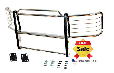 HS Power Ss Chrome Bull Bar Brush Push Bumper Grill Grille Guard 2005-2007 for F250//F350