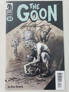 THE-GOON-28-2008-DARK-HORSE-COMICS-AUTOGRAPHED-by-ERIC-POWELL-with-COA-NM