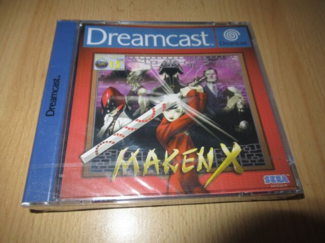 MAKEN X  Sega Dreamcast -  New And Sealed pal version