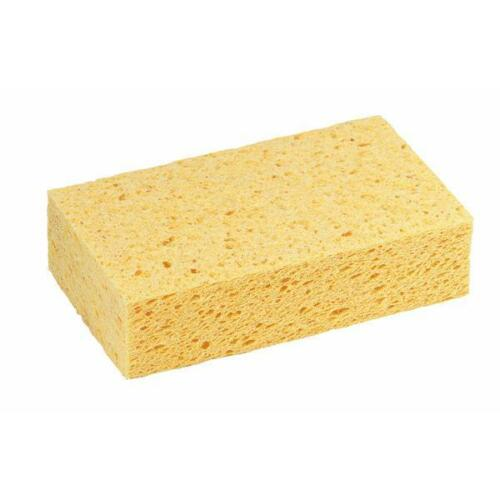 """6 Pk 3M Extra Large Commercial Gold Cellulose Sponge 7.5/"""" x 4.3/"""" x 2/"""" 7456T"""