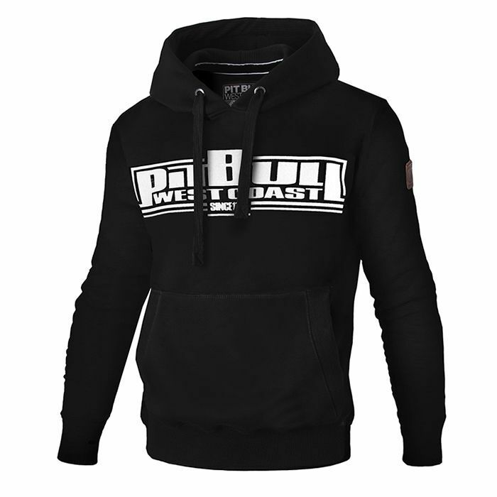 Pit Bull West Coast Hooded Classic Boxing Hoodie schwarz Schwarz