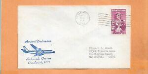 Primer Vuelo Dedicación Redmond Oregon Aeropuerto Oct 10,1981