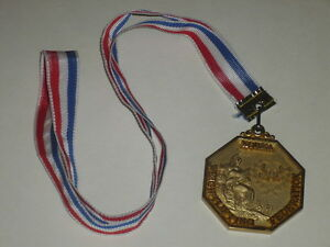 Coll-J-DOMARD-SPORT-OLYMPIC-GAMES-SEOUL-1988-MEDAL-KOREA-WEIGHTLIFING-FED