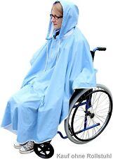 Regenschutz für Rollstuhl Fahrrad usw. Regencape Regenmantel