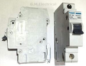 Hager 63A MCB Type B Single Pole
