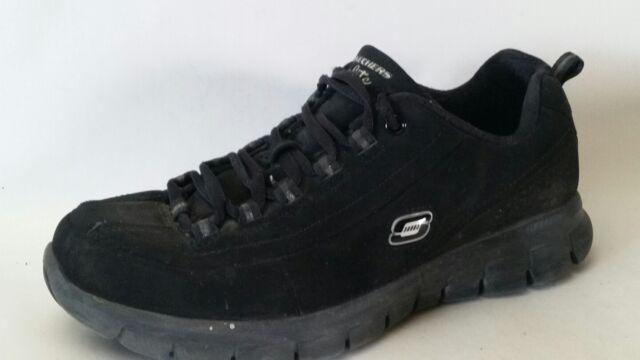 Women's Skechers 11717 Black Elite Trend Setter Memory Foam SNEAKERS Shoes
