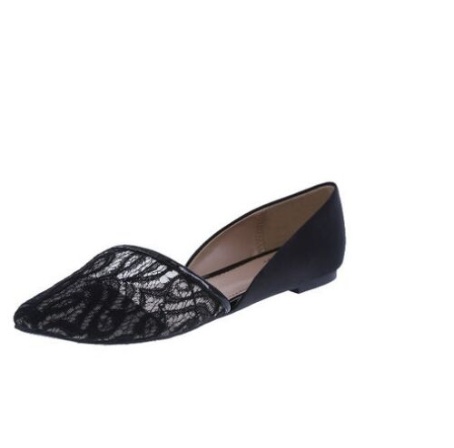 Fioni Women/'s Evelyn Asymmertical Pointed Shoe