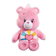 Care Bears Plush (Medium) with DVD - Hopefull Heart Bear - Brand New