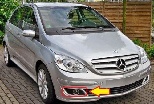 NEW Genuine Mercedes MB Classe B W245 pare-chocs Avant Brouillard Lampe Couvrir droit O//S