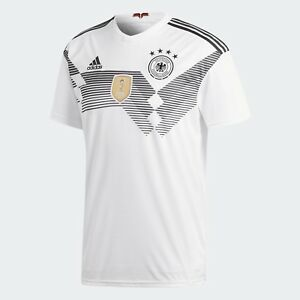 29f6acc334c6 Adidas Men s Germany World Cup 2018 Football Home Jersey Soccer ...