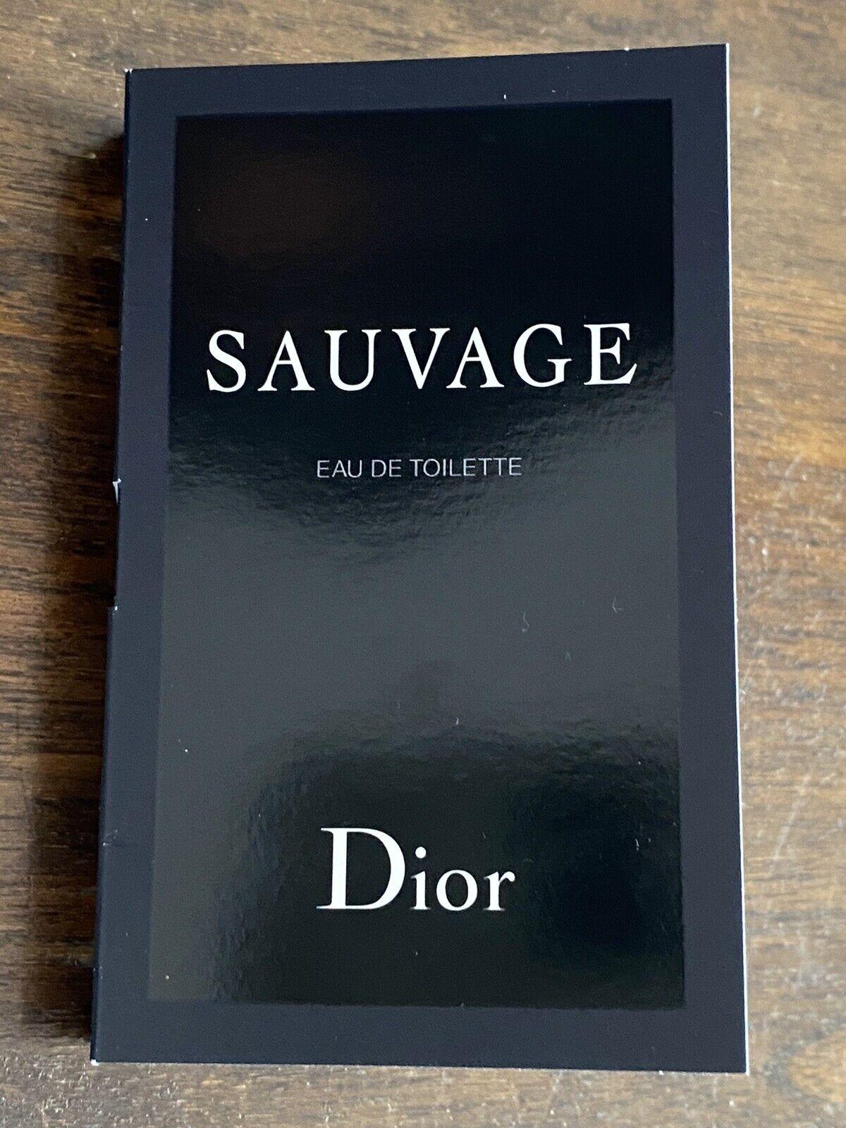 SAUVAGE * Christian Dior * EAU DE Toilette EDT Spray 1ml Luxusprobe 👑 Neu
