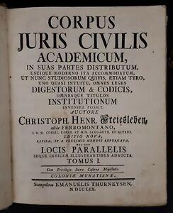 Freiesleben-alias-Ferromontano-Corpus-Juris-Civilis-Academicum-1759