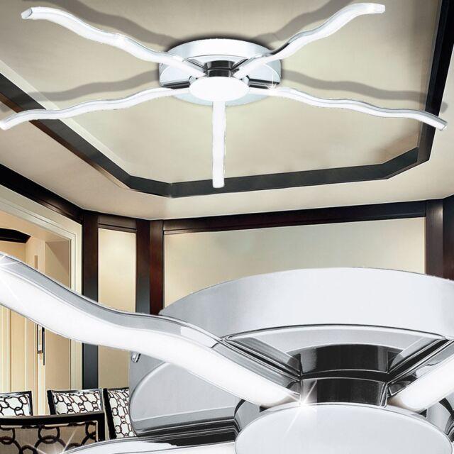 LED 30W DESIGN  Decken STERN Leuchte 78,5cm Strahler Ess-Zimmer Wellen Lampe
