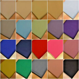 Image Is Loading 20 Colours Homespun 100 Cotton Fabric Material Sheeting