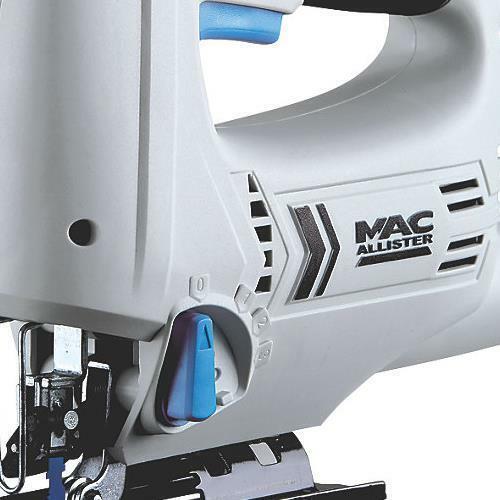 Light Electric Mac Allister MSJS600 600W Jigsaw 220V Wood Metal Blade UK