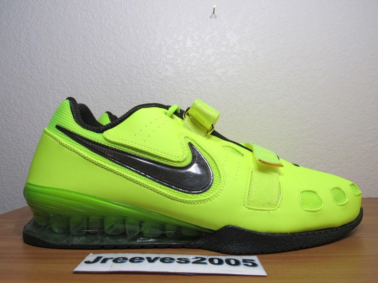 Nike romaleos 2 krafttraining sz 15 100% 476927 authentische powerlifting volt 476927 100% 700 fcd28e