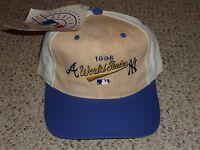 1996 World Series Baseball Hat Cap - Atlanta Braves Vs York Yankees -