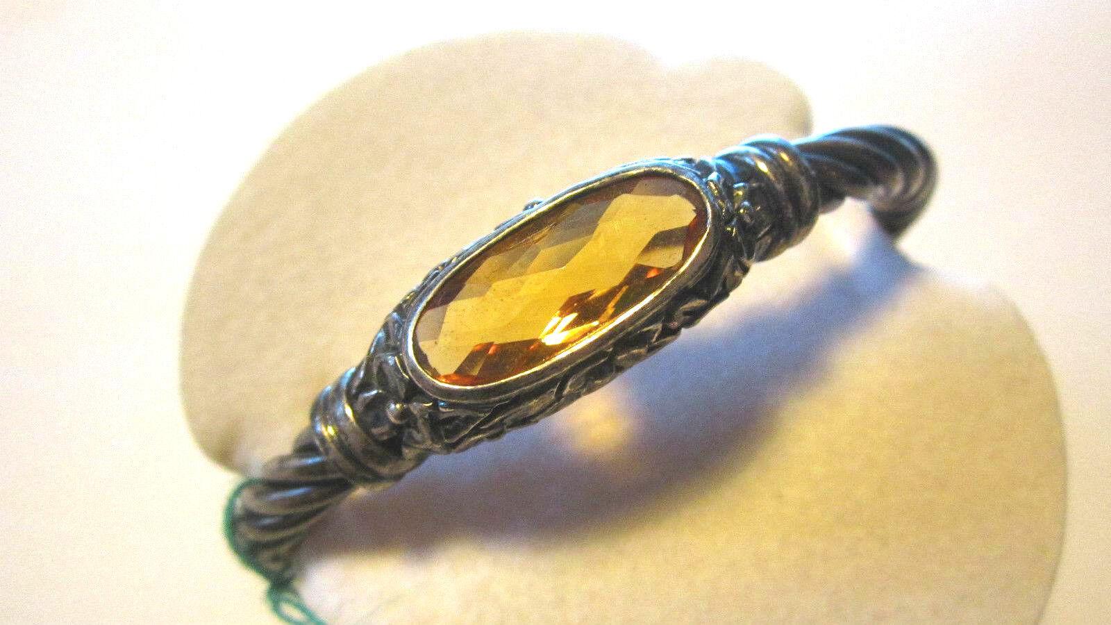 Bracciale Bracciale Bracciale stile antico con topazio 200846