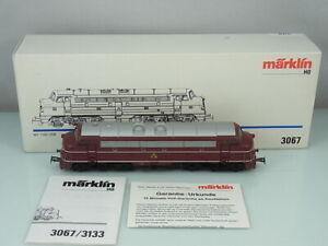 Maerklin-HO-3067-MY-1100-DSB-MY-1101-Diesel-Lok-Digital-Delta-OVP