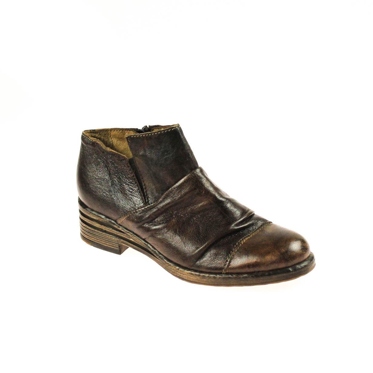 a buon mercato Fascino DONNA DONNA DONNA mezza scarpa Marroneee pelle Marronee scuro Multicolore  molto popolare