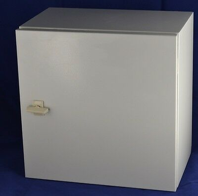 ELECTRICAL ENCLOSURE BOX STEEL, POWER FUSE OR HOBBY(400x400x250)
